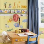 оформление детской комнаты фото