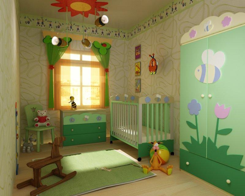 идеи оформления детской комнаты