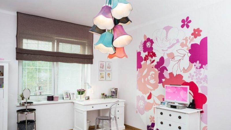 Оформление детской комнаты 70 фото современных идей