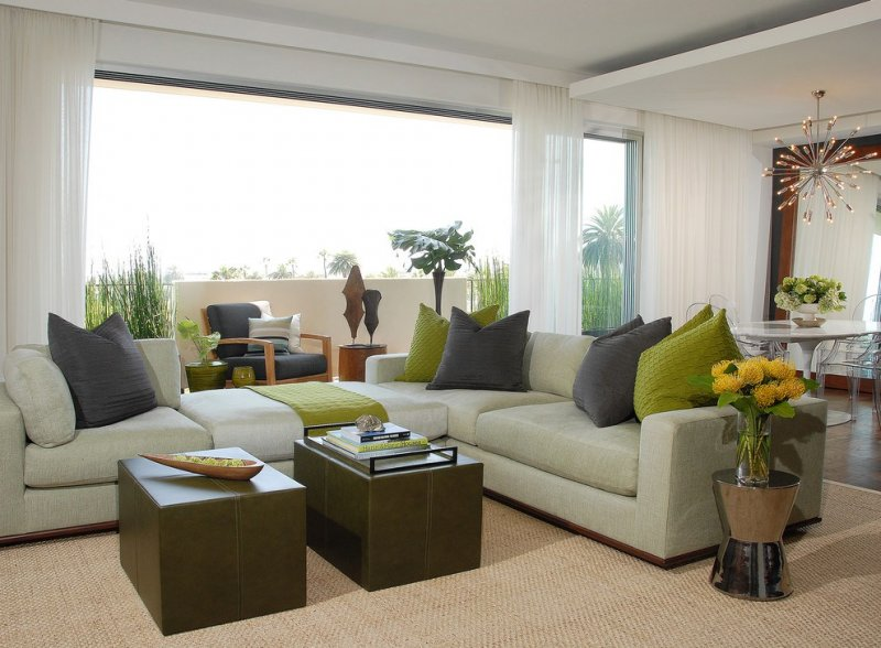 Стильные диваны в гостиную