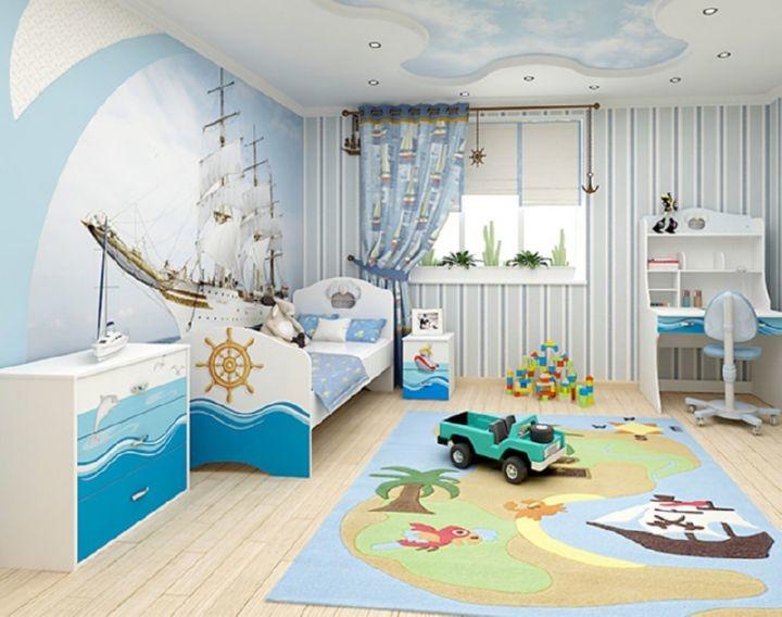 дизайн оформления детской комнаты