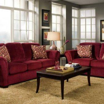 фото диванов в интерьере гостиной