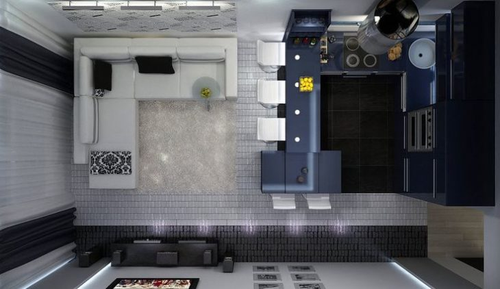 кухня планировка и дизайн фото