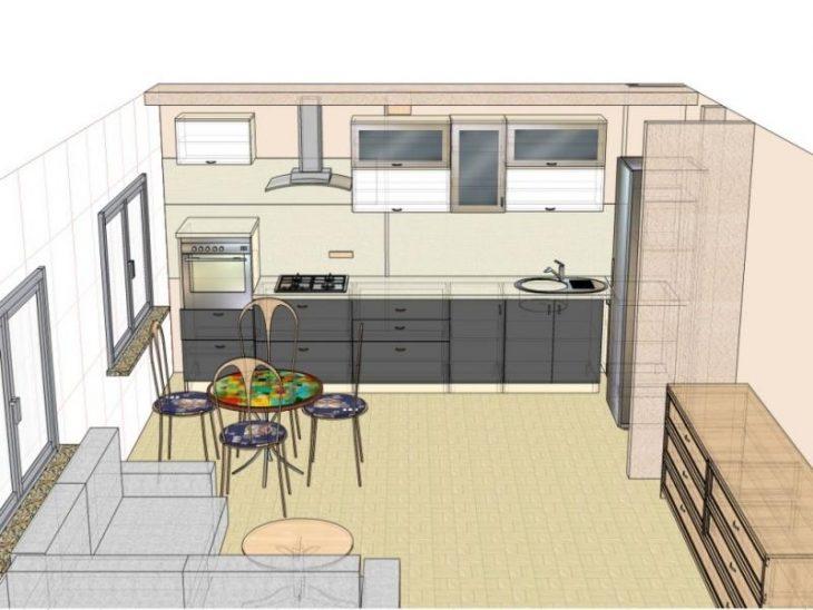 Как правильно выполнить планировку кухни