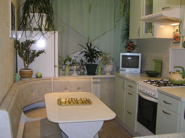 планировка кухни в квартире