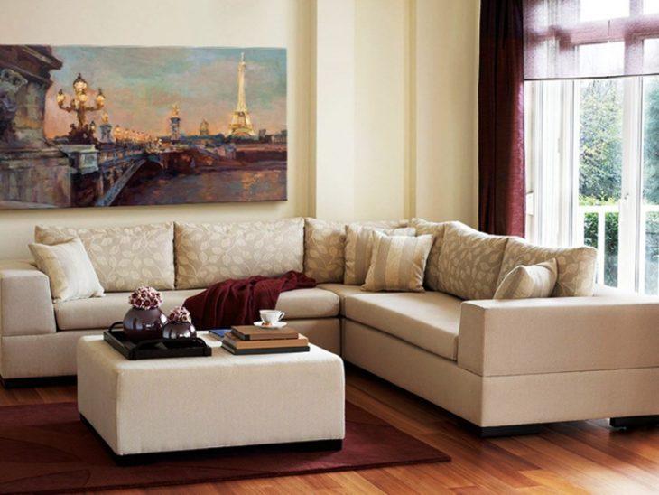 угловой диван в интерьере фото