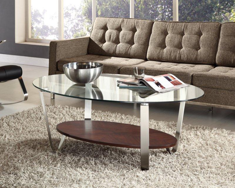 стеклянный кофейный столик