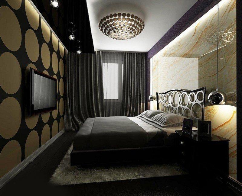 светильники для спальни фото