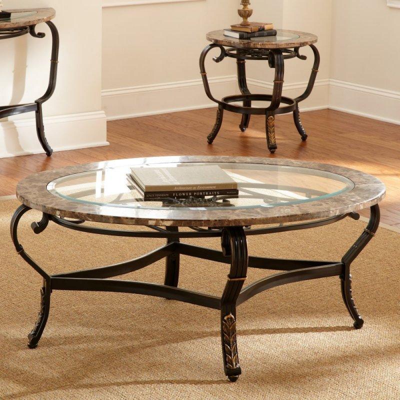 кофейный столик на колесиках