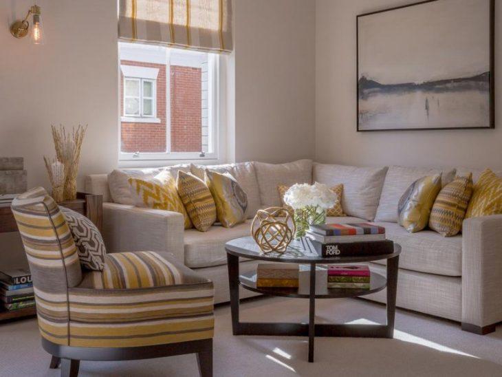 Угловой диван в интерьере гостиной 75 фото дизайна