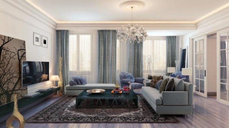 classic style apartment interior