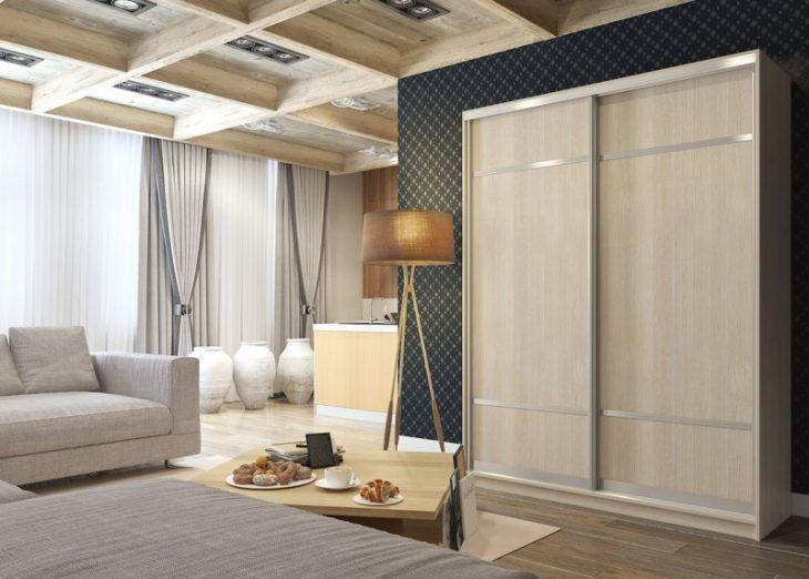 шкафы купе в интерьере спальни