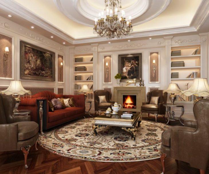 classic-style kitchen interior