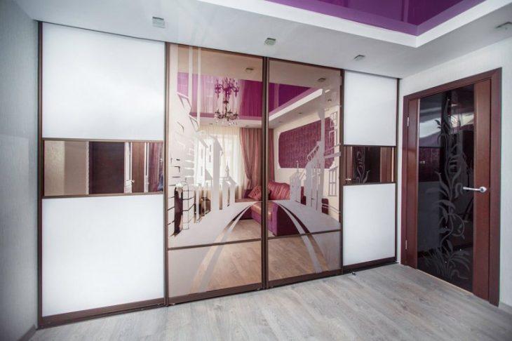 75 стильных идей-шкафа купе в интерьере квартиры | 486x730