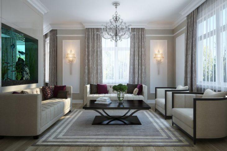 classic-style bedroom interior