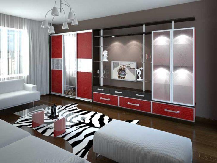 дизайн интерьера шкафов купе