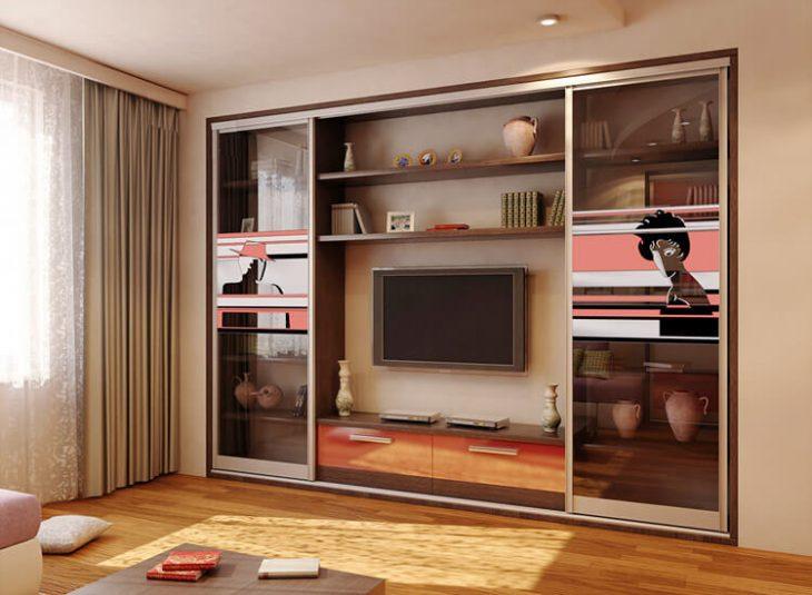 шкаф купе в интерьере квартиры