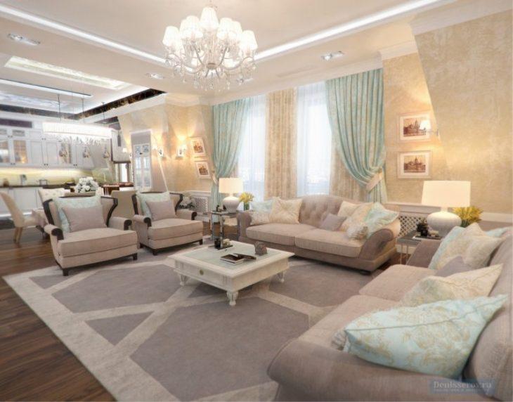 interior design in a classic style