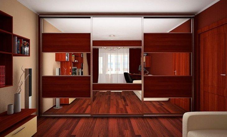 Шкаф-купе в интерьере квартиры 75 фото дизайна