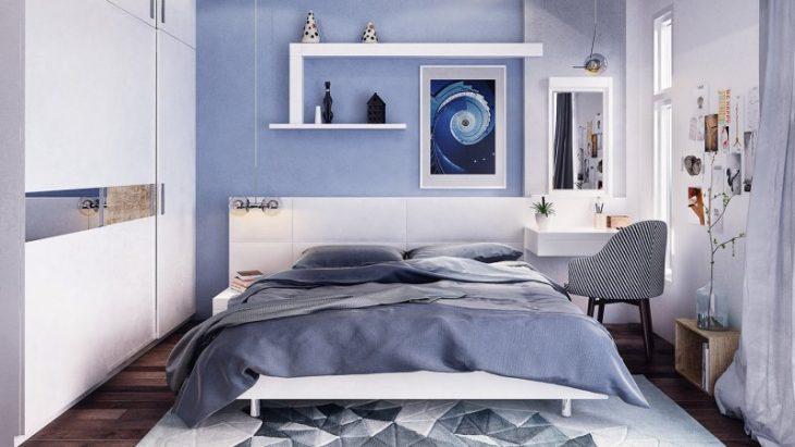 идеи дизайна маленькой комнаты