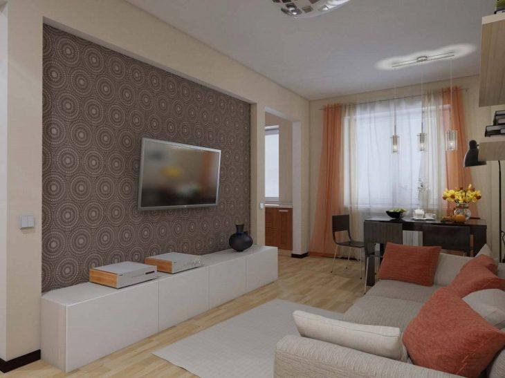 фото гостиных комнат в хрущевке