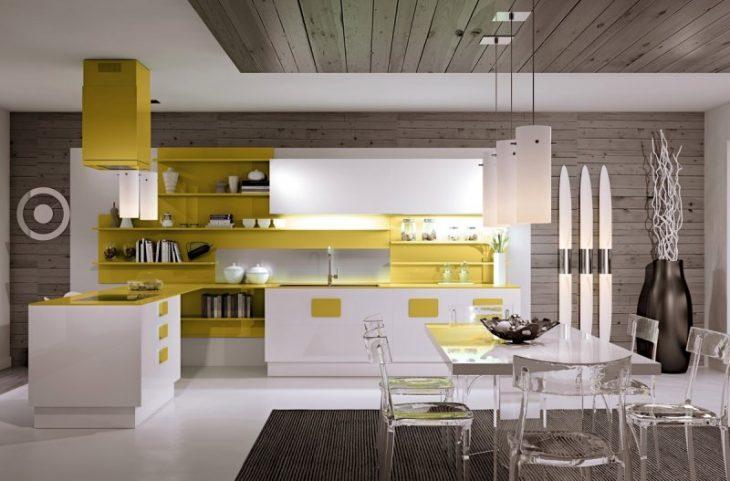дизайн кухни мебели угловая