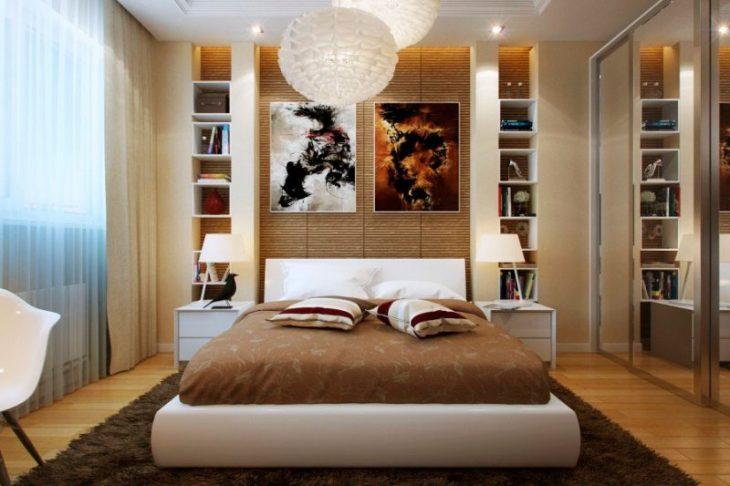 красивый дизайн маленькой комнаты