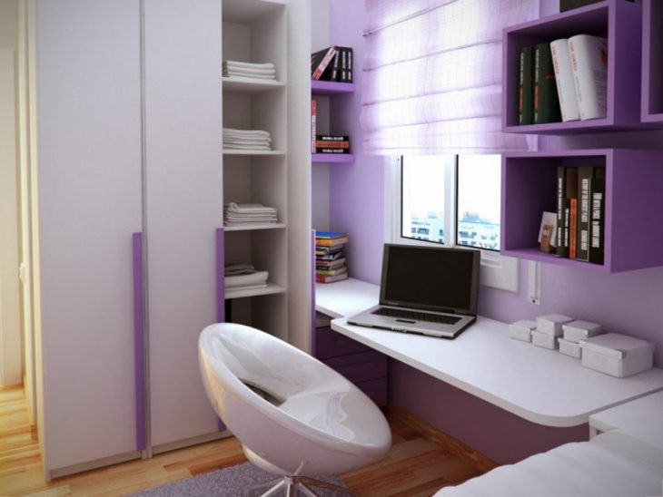 варианты дизайна маленькой комнаты
