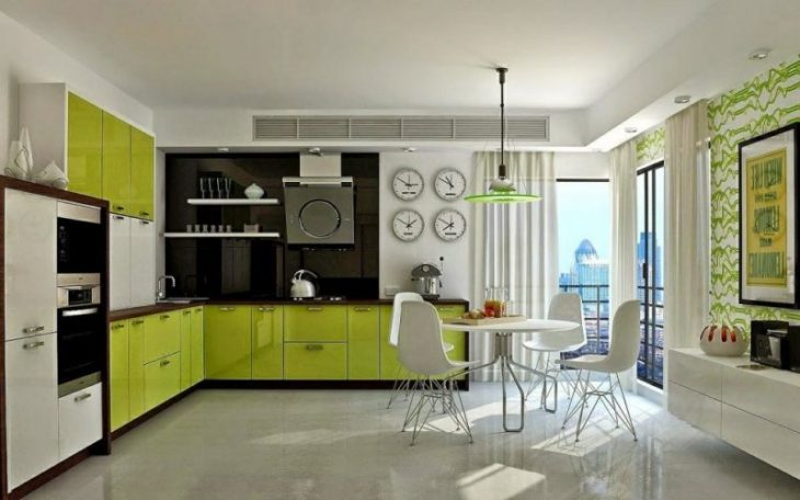 кухни дизайн угловые новинки