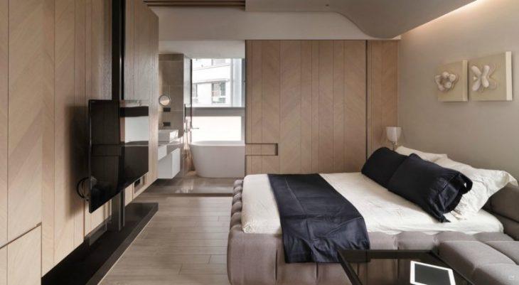 современный дизайн маленькой комнаты