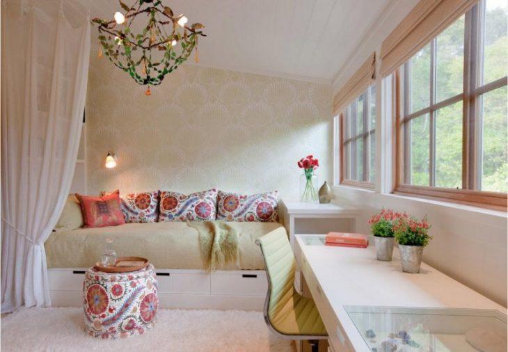модный дизайн маленькой комнаты