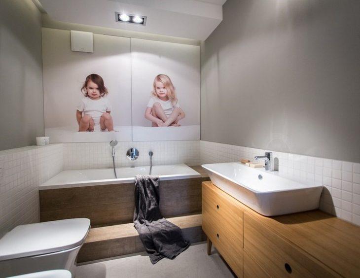 ванная и туалет в скандинавском стиле