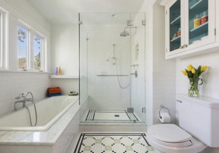 аксессуары для ванной комнаты в скандинавском стиле