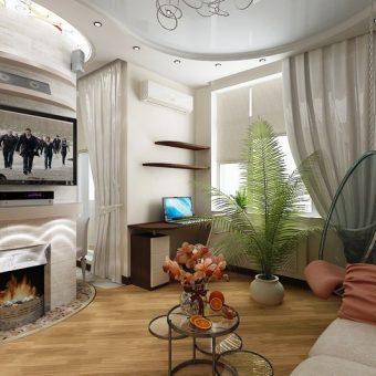 Журнальный столик в гостиной: функциональность и эстетика