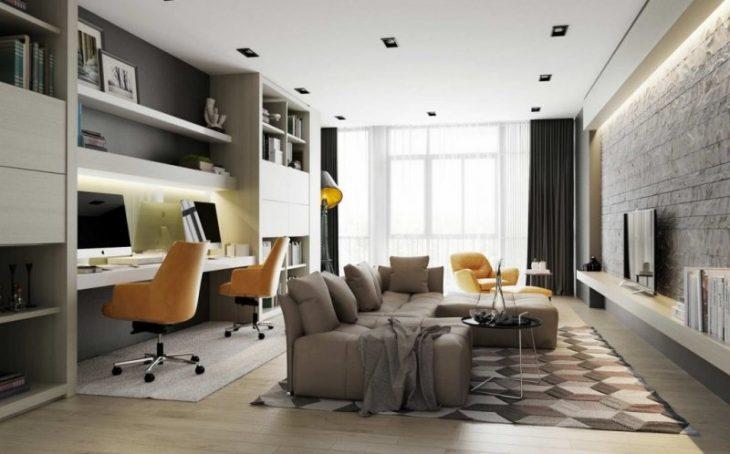 Варианты дизайна гостиной - 85 фото, как обустроить гостиную