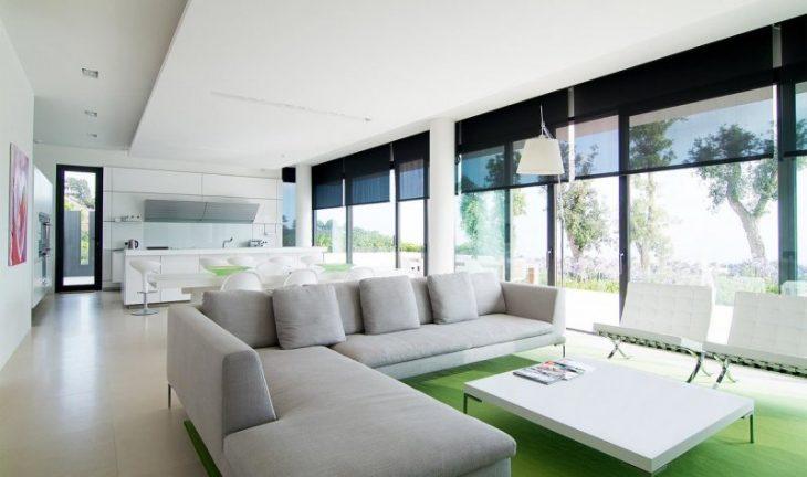 Современные интерьеры в стиле минимализм
