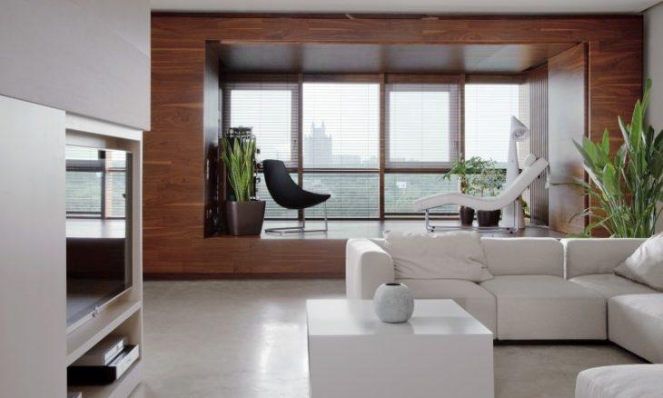 потолки в стиле минимализм