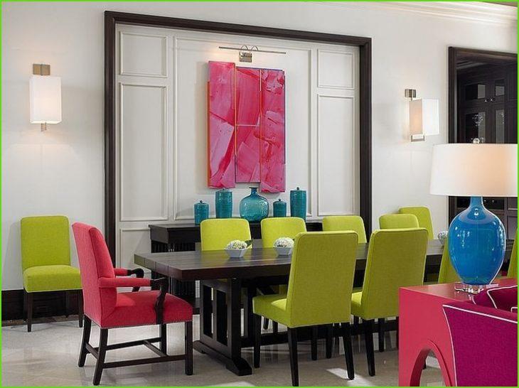 цвета в интерьере квартиры
