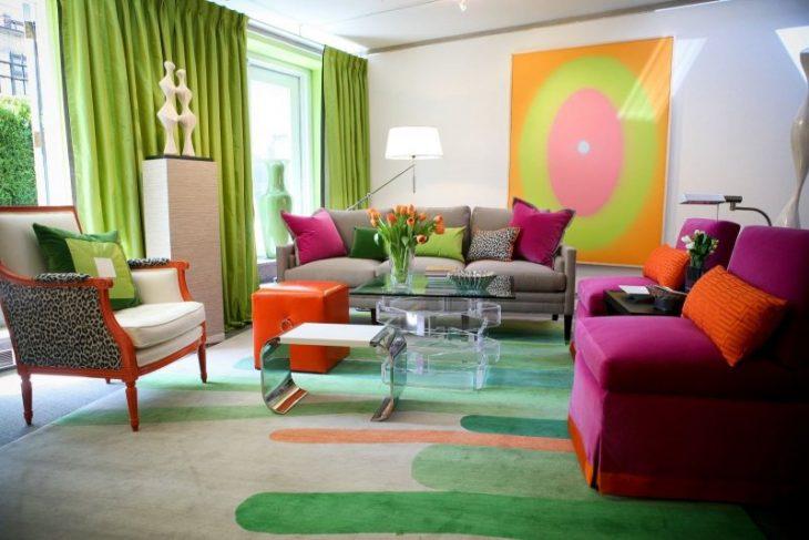 психология цвета значение цвета в интерьере