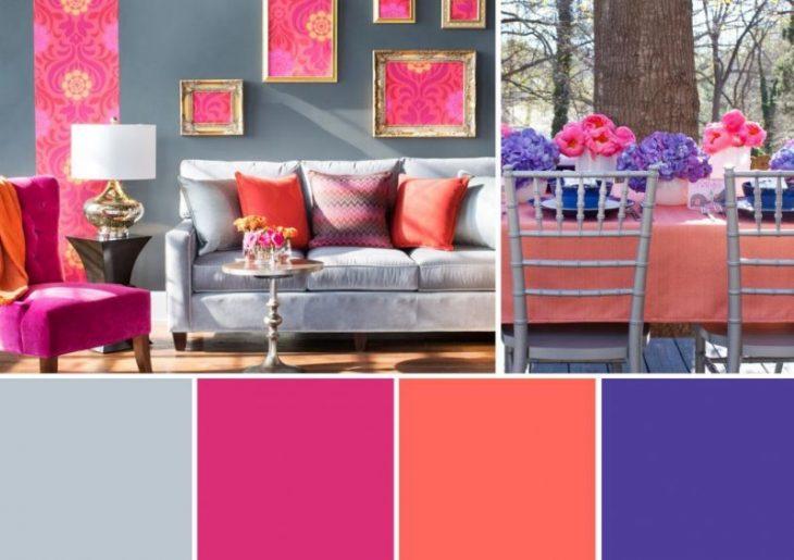 палитра цветов для интерьера