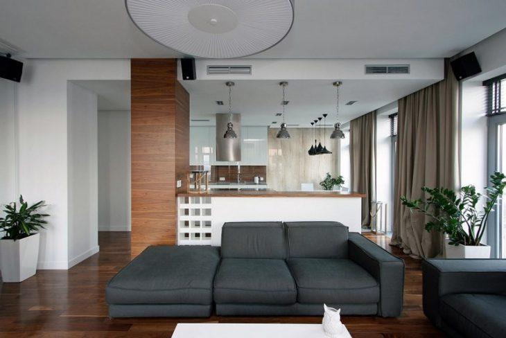 современный интерьер комнаты