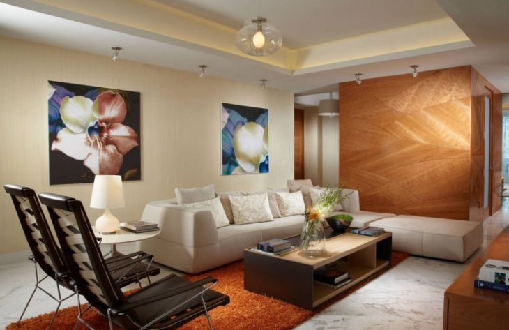 Современные идеи интерьера квартиры - 80 фото обустройства