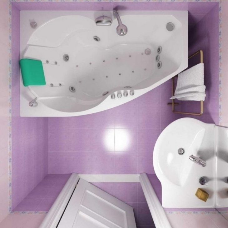 идеи для маленьких ванных комнат фото