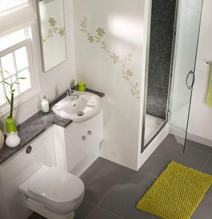 дизайн ванной комнаты маленькой современные идеи