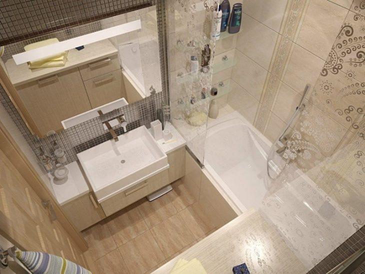 идеи для маленькой ванной комнаты без туалета