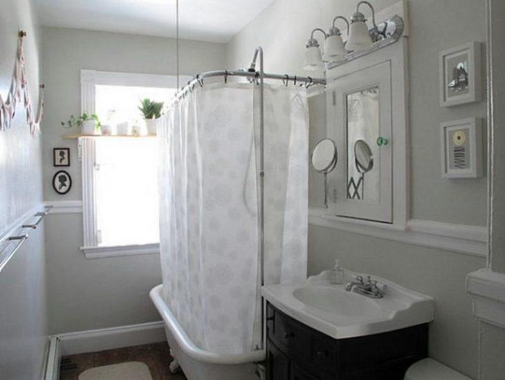 идеи оформления маленькой ванной комнаты