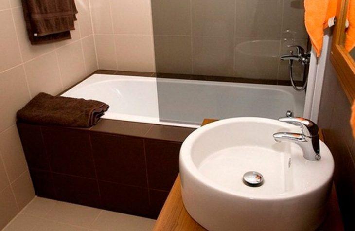 идеи для дизайна ванной комнаты маленького размера