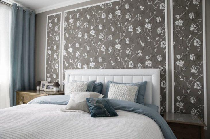 Новинки обоев для спальни - 80 фото идей