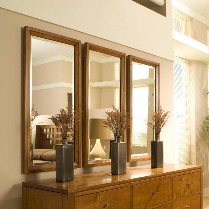 зеркало в современном интерьере