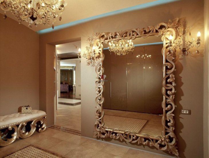 интерьер зеркало настенное